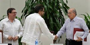 Accord entre la Colombie et les Farc
