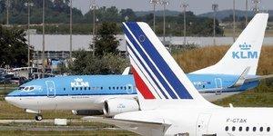 Air France-KLM, compagnie aErienne, groupe franCais,