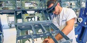 Airbus lunettes de réalité augmentée