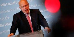 Allemagne: la croissance portee par la demande interne, dit altmaier
