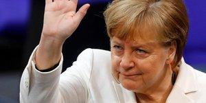 Angela Merkel, Allemagne, SPD, Bundestag,