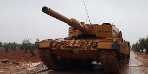 Ankara discute de la possibilite d'une offensive militaire en syrie