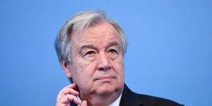 Antonio guterres plaide pour le maintien de l'accord sur l'iran