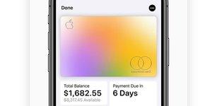 Apple Card carte crédit Mastercard