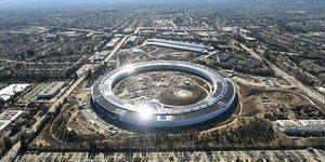 Apple, Silicon Valley, campus, Cupertino, tech, informatique,