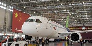 Avion chinois C919 de Comac