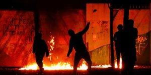 Belfast, Irlande du Nord, émeutes, post-Brexit