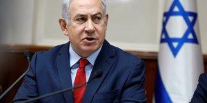 Benjamin netanyahu encourage les manifestants en iran