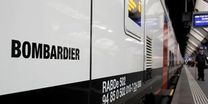 Bombardier, train, ferroviaire, transports