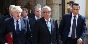 Boris Johnson Jean-Claude Juncker