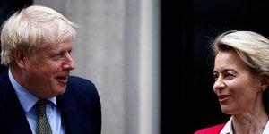 Brexit: johnson et von der leyen vont se parler en milieu de journee, selon des medias