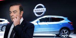 Carlos Ghosn, quand il était encore PDG de l'alliance Renault-Nissan, le 7 mars 2017