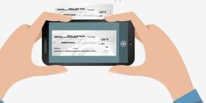 Chèque smartphone scan digital