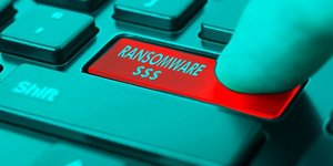CybersEcuritE, ransomware, illustration, clavier, ordinateur, piratage, hacker