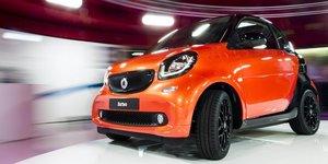 Daimler proche de vendre 50% de sa marque smart a geely, selon le financial times