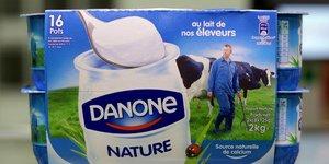 Danone est a suivre a la bourse de paris