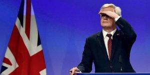 David Davis, Brexit, Royaume-Uni, Theresa May,