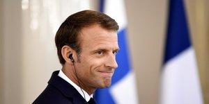 Emmanuel Macron en visite officielle au Danemark