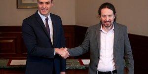 Espagne: accord entre socialistes et podemos pour jeter les bases d'une coalition