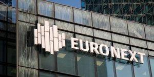 Euronext annonce une hausse de 10% de son benefice net au troisieme trimestre