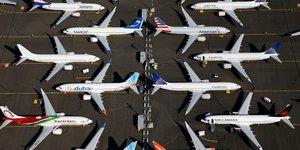 Fitch abaisse la perspective de boeing avec le 737 max