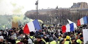 """France: un journaliste agresse par un """"gilet jaune"""" en lorraine"""