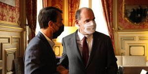 GrEgory Doucet et Jean Castex