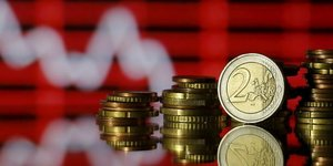 Illustration monnaie, euro, argent, bourse, dividendes, croissance, PIB
