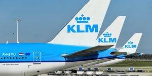 Klm obtient une aide de 3,4 milliards d'euros des pays-bas