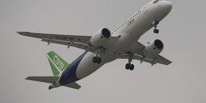 Le chinois comac annonce 130 nouvelles commandes pour son c919