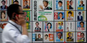 Les japonais appeles aux urnes