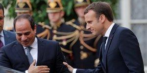 Macron appelle sissi a agir sur les droits de l& 39 homme