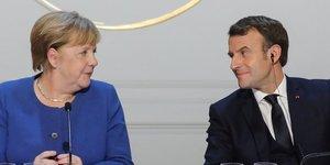 Macron attendu lundi en allemagne pour parler du plan de relance avec merkel