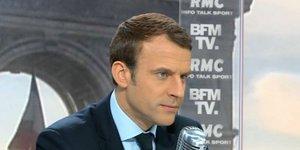 Macron Bourdin