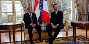 """Macron refuse de donner """"des lecons"""" de droits de l'homme a sissi"""
