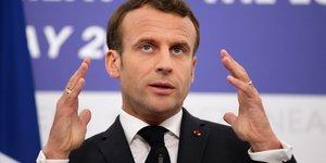 Macron, sommet des chefs d'État et de gouvernement européens, Sibiu, Roumanie, Europe à 27, UE,