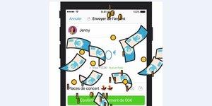 Messenger Facbook paiement billets bis