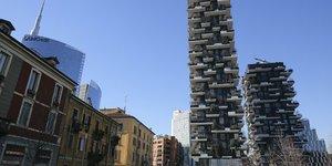 Milan, Bosco Verticale, immobilier, urbanisme, Ecologie, dEveloppement durable, vEgEtalisation,