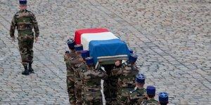 Monument aux morts en opération extérieure Geneviève Darrieussecq