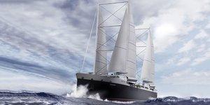 Neoline, cargo à voile, transports de marchandises, fret maritime,