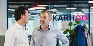 Nicolas Andine  A gauche  et Boris  Pilichowski, co-PDG de Karhoo.