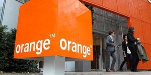 Orange confiant pour le marche francais apres un quatrieme trimestre encourageant