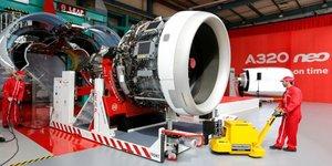 Safran livre le premier moteur leap pour l& 39 a320neo