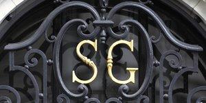 SocGen, SociEtE GEnErale, banque, finance, portail, sigle, logo, porte