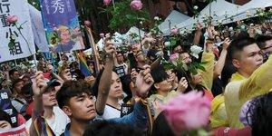 Taiwan: le parlement se prononce sur le mariage pour tous avant le vote