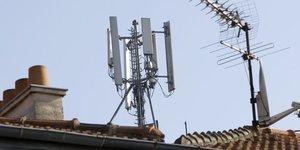 télécoms, antennes, mobile, 4G