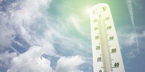 thermomètre, climat, température