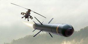 Tigre missile air-sol MHT MAST-F MBDA