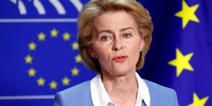 Ue/commission: von der leyen promet des reformes aux eurodeputes