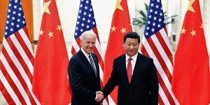 Usa chine-premier entretien entre joe biden et xi jinping